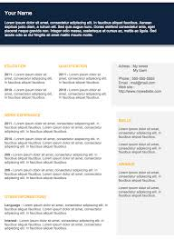 Colorful Resume Templates Free Free Resume Templates To Download Examples Of Resumes
