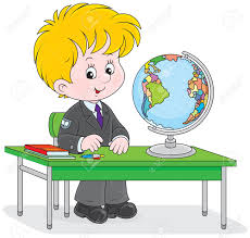 Student Desk Clipart Good Student Sitting At Desk Clipart Collection