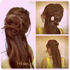 angelina jolie inspired how to flower bun chignon updo hairstyles