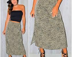 Long Flowy Maxi Skirt Flowy Maxi Skirt Etsy