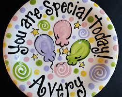 you are special today plate birthday plate it s your special day 10 inch ceramic