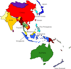 pacific region map living in and the pacific region resources for expatriates
