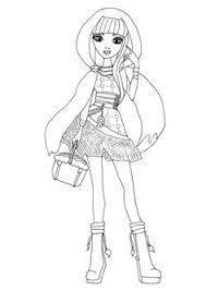 fashion design coloring pages hotaru fashion shugo chara coloring pages for kids printable free