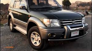1999 toyota land cruiser prado 72k for sale direct from japan
