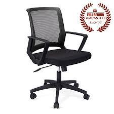 ergonomic computer desk chair mid back adjustable mesh ergonomic computer desk office chair 360