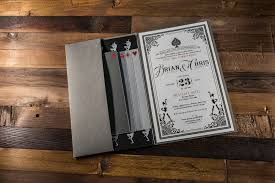 vegas wedding invitations andrea eppolito events las vegas wedding planner custom boxed