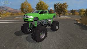 mud truck dodge mud truck lifted v 1 0 multicolor u2013 fs17 mods