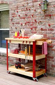 Kitchen Carts Home Depot by 5 Diy Grilling Carts The Home Depot Blog