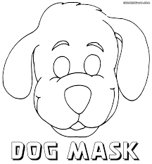 mask coloring pages coloring pages to download and print