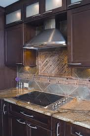 cutting glass tile backsplash microwave wall cabinet granite