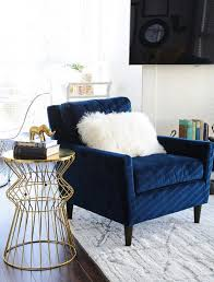 Blue Accent Chairs For Living Room 10 Beautiful Blue Accent Chairs For The Living Room