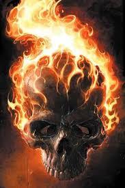 art tattoo design flaming skull tattoos tatoos pinterest