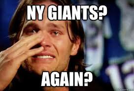 Ny Giants Memes - ny giants again crying tom brady quickmeme