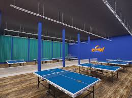 ping pong table playing area zing table tennis center