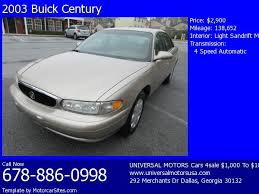 2002 buick century service engine soon light 2003 buick century for sale in dallas ga 30132