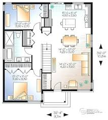 small open floor plan open modern floor plans house plans small affordable modern house