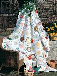 quilt patterns bed quilt patterns grandmother u0027s flower garden