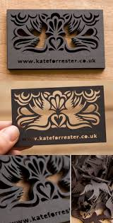 laser cut business cards beautiful laser cut business card design cardobserver