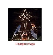 Christmas Yard Decorations Nativity by Christian Christmas Yard Decorations