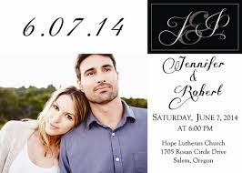wedding announcements stylish simple white and black photo wedding announcements ewa019