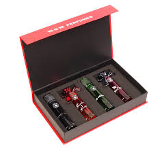 buy w o w perfumes gift set a perfumes set of 4 30 ml each