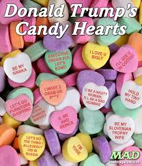 candy hearts donald s candy hearts mad magazine