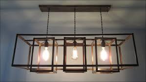 kitchen large wood chandelier rustic industrial lighting kitchen