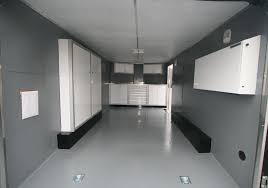 V Nose Enclosed Trailer Cabinets by Photos Of Trailer U0026 Vehicle Lightweight Aluminum Cabinets