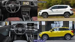 Benim Otomobilim 2016 Seat Ateca Vs 2016 Audi Q2 Design