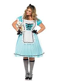 Size 3x Halloween Costumes Tea Alice Costume Size 3x 4x Dress Size 22 26