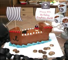 pirate ship cake a pirate ship cake to inspire a tiny crew unique birthday cakes