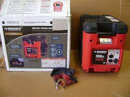 new husky 1850 watt portable generator 4 hp subaru ohv engine