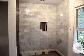 carrara marble bathroom designs this is the master shower going in