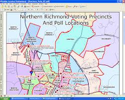 Map Of Richmond Va Gis Map Gallery