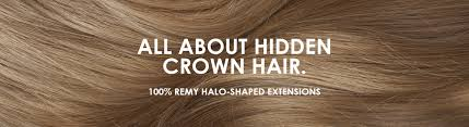 How To Make A Halo Hair Extension by Our Story U2013 Hidden Crown Hair Extensions