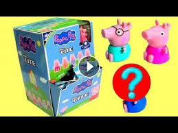 nickelodeon peppa pig micro lite box collection opening