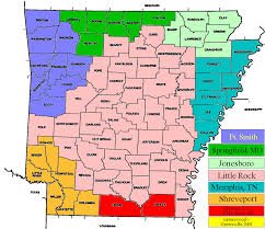me a map of arkansas index of tvmarkets maps