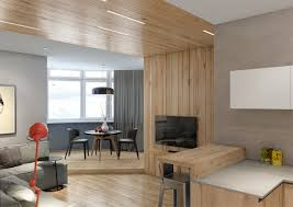 Wooden Paneling by Two Lovely Apartments Featuring Wood Paneling