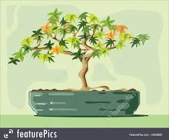 plants bonsai tree stock illustration i2608882 at featurepics