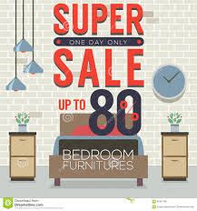 furniture sale up to 80 percent stock vector image 66457186
