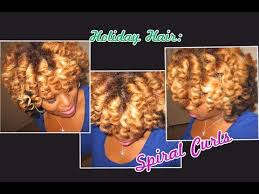 wand curl styles for short hair spiral curls curling wand on natural hair holiday hair youtube