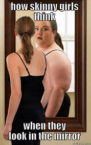 Skinny Girl Meme - skinny fat girl quickmeme