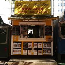 Portland Food Cart Map by Thai Sky Portland Food Trucks Roaming Hunger