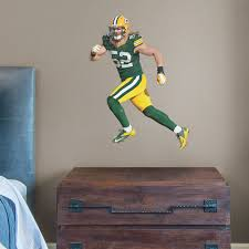 Custom Fatheads Wall Stickers Packers 52 Clay Matthews Fathead Junior At The Packers Pro Shop