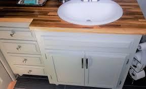 1965 bathroom vanity into modern shaker style hometalk