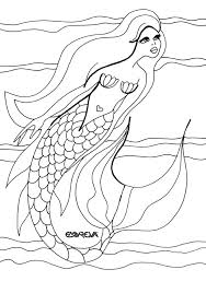 mermaid dolphin coloring pages 2392 mermaid dolphin coloring