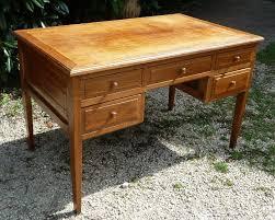 bureau chene clair bureau chene clair 120cm x 70 h75 pasquier antiquites