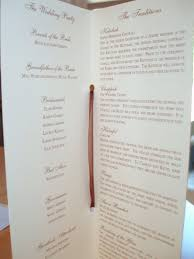 what to put on wedding programs bashert weddings wedding programs why them what to include