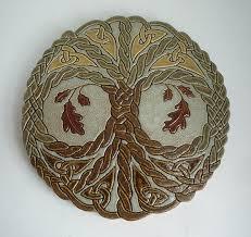 tree of oak knot tile