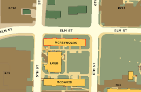Mizzou Map Office Of Graduate Studies Located In 265 Mcreynolds Hall Office